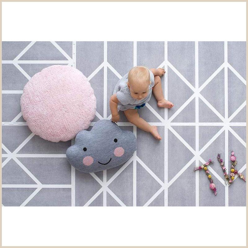 Rutschfeste Spielmatte von Toddlekind für Babys
