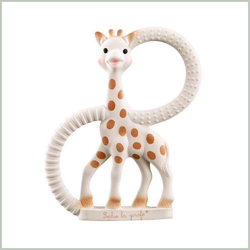Sehr weicher Beißring ab Geburt von Sophie la Girafe®