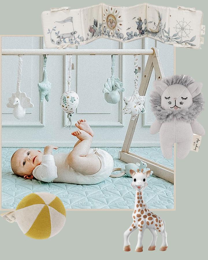 zertifiziert aus 100/% Baumwolle Decke für Babys und Kinder in Regenbogenfarben