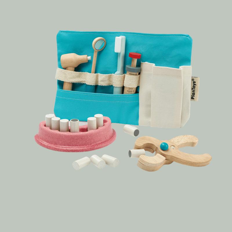 Zahnarzt-Set für Dreijährige